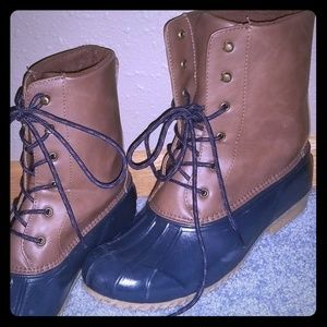 London fog boots!